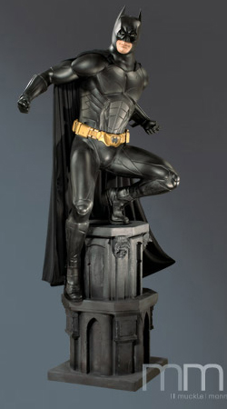 Batman Begins fullskalig Staty Batman 234 cm