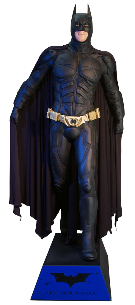 Batman The Dark Knight fullskalig Staty Batman 224 cm