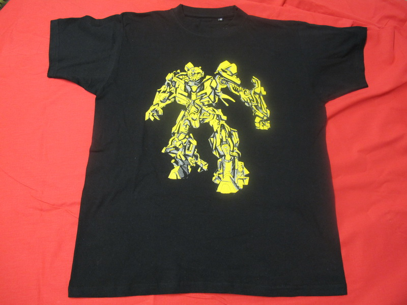 T-SHIRT TRANSFORMERS BUMBLEBEE