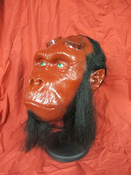 GOING APE HELLBOY GORILLA HEAD