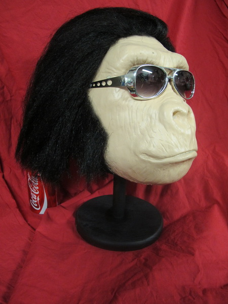 GOING APE ELVIS VEGAS GORILLA HEAD