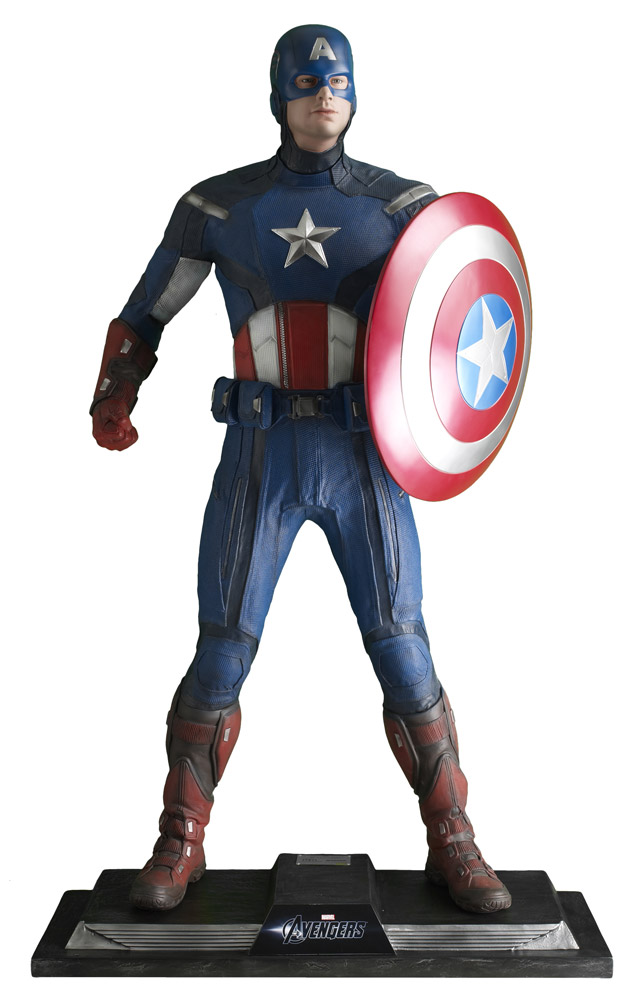 The Avengers Life-Size Staty Captain America 198 cm
