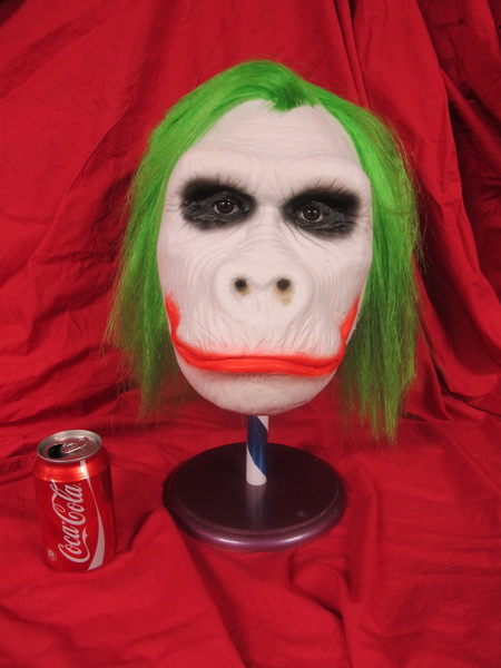 GOING APE BATMAN JOKER GORILLA HUVUD