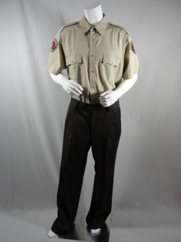 Heroes (TV) (2006), HEROES MATT PARKMAN GREG GRUNBERG WORN UNIFORM SHIRT