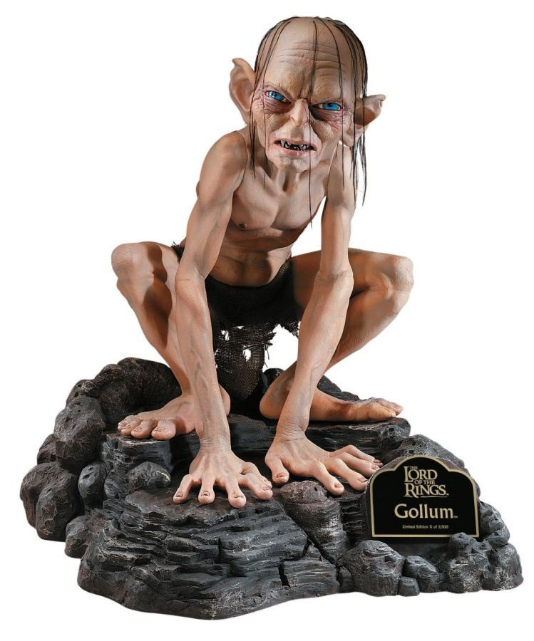 Gollum Lord of the Rings Hobbit Smeagol Staty