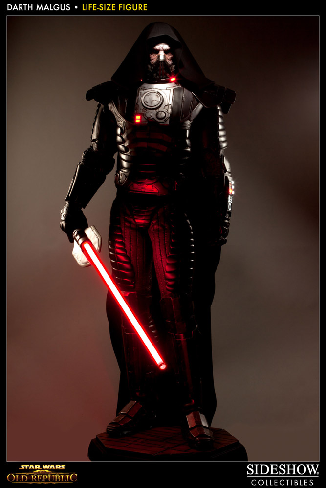Star Wars The Old Republic Staty 1/1 Darth Malgus 224 cm