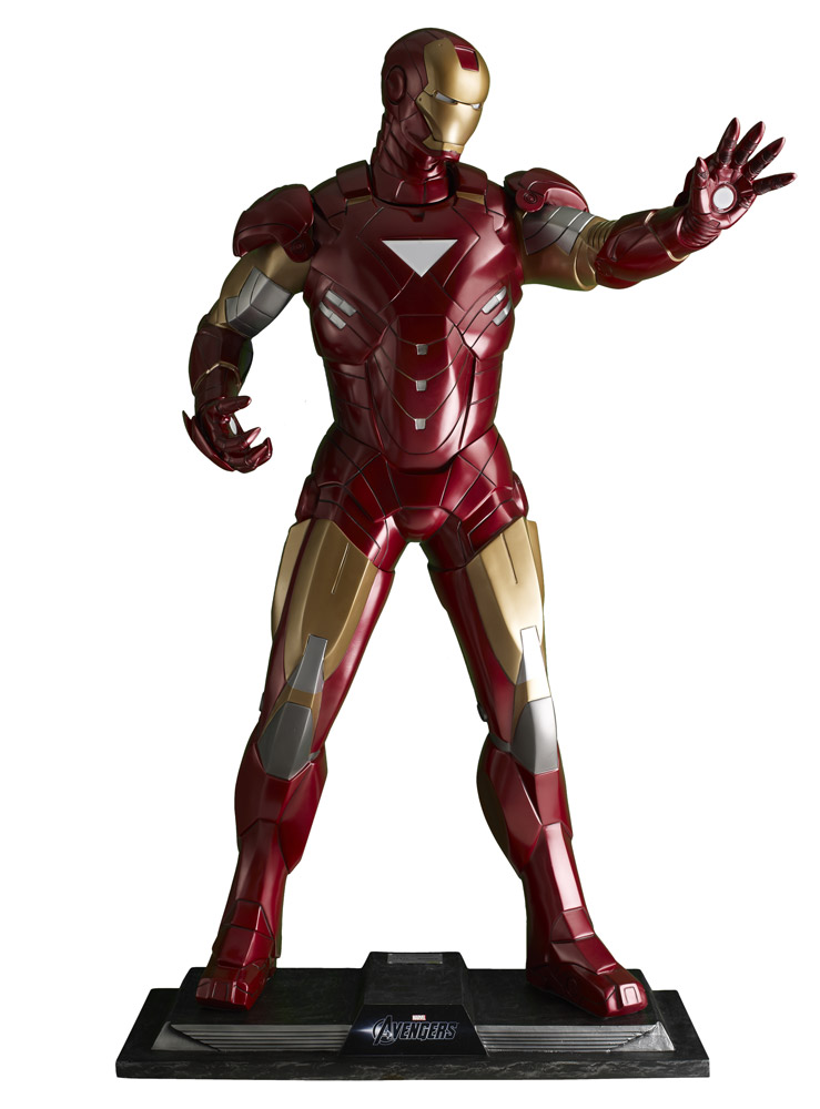 The Avengers Life-Size Staty Iron Man 211 cm